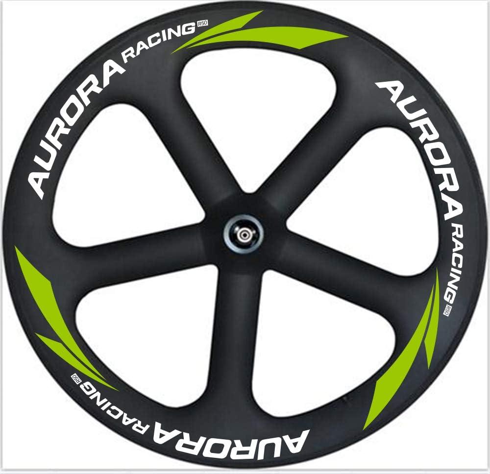 Aurora Racing Meilleur populaire 65 mm Route 5 Spoke Carbone Roues ...