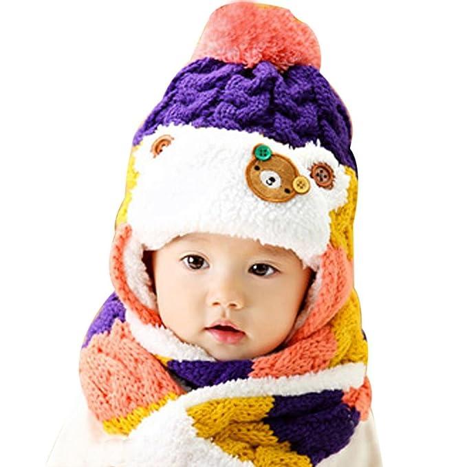 Feixiang - Abrigos - para bebé niña Morado Violeta: Amazon.es: Ropa y accesorios
