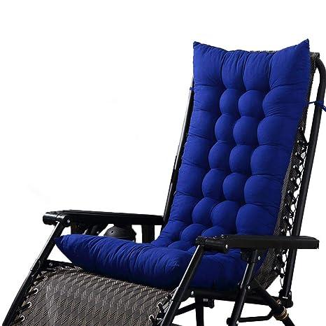 Cojín para silla Cojín de algodón de color sólido Oficina de playa Plegable Almuerzo Pausa Silla de madera Silla de colchón Funda para silla Cojín, ...