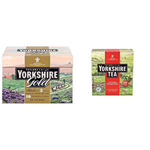 Taylors of Harrogate Yorkshire Gold, 160 Teabags & Yorkshire Red, 100 Teabags