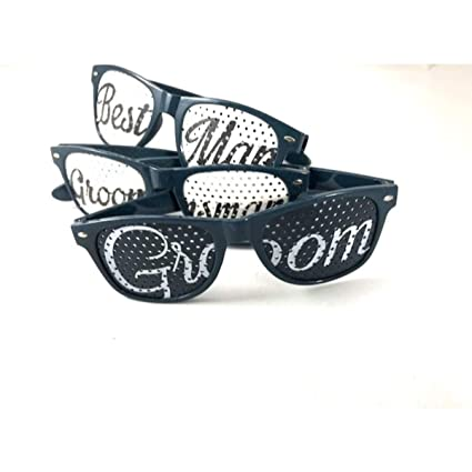 9c72ba5ecf Amazon.com  BACHELOR Party Wedding Groomsmen Sunglasses in a UNIQUE ...