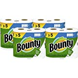 Bounty Select-A-Size Paper Towels, White, 8 Double Plus Rolls = 20 Regular Rolls