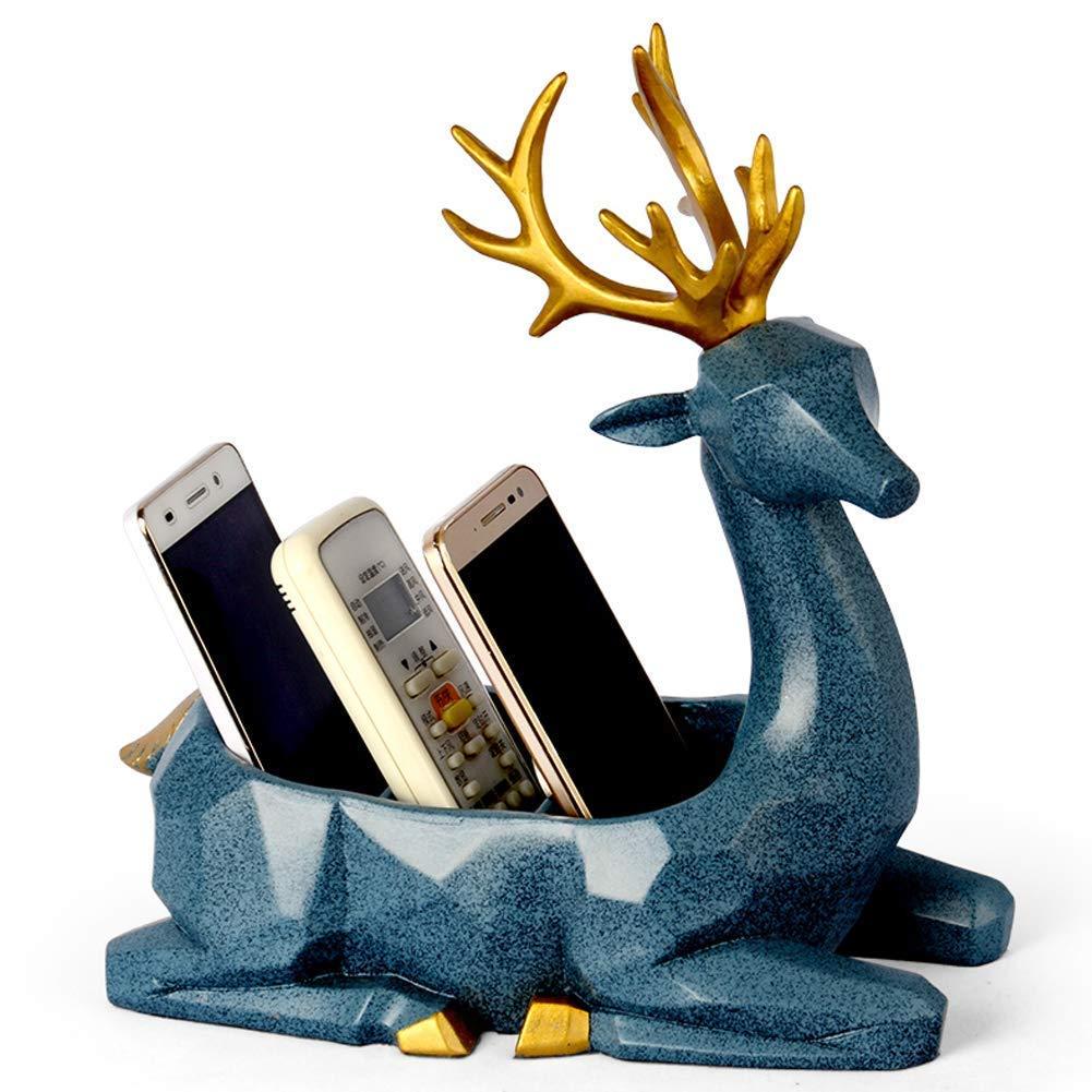 Key Hanger, Jewelry Organizer, Phone Power Bank Organizer, Remote Control Organizer 3 Slot Storage Rack for Home Office Desktop Case Candy Holder