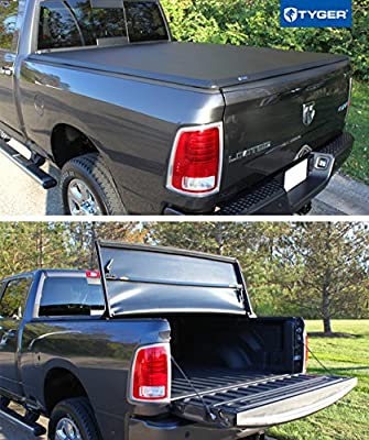 Tyger Auto TG-BC3D1011 Tri-Fold Tonneau Truck Bed Cover Fits 2002 ...