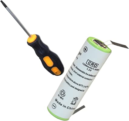 HQRP batería para Braun tipo 5774, 370 cc-4, 350 cc-4, tipo 5412 ...