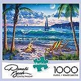 Buffalo Games Darrell Bush - Coastal Twilight - 1000 Piece Jigsaw Puzzle