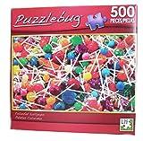 PuzzleBug 500 Piece Puzzle ~ Colorful Lollipops