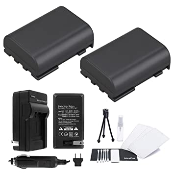 Amazon.com: 2-Pack NB-2L/NB-2LH High-Capacity Baterías de ...