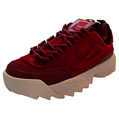Fila Disruptor Ii Premium Velour Womens Trainers  Amazon.co.uk ... 696d1a3d40