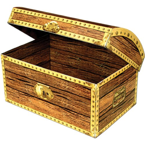 Beistle Party Decoration Treasure Chest product image