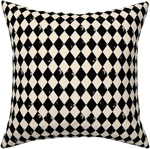 """Harlequin Onyx Grey Velvet cushion cover 100/% Cotton Dark 18/"""" Designer"""