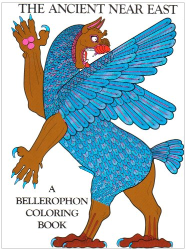 The Ancient Near East Coloring Book (A Bellerophon coloring book)