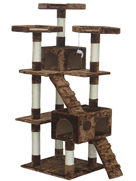 2. Shop4Omni Cat Tree Lounge Tower - Best for Perching