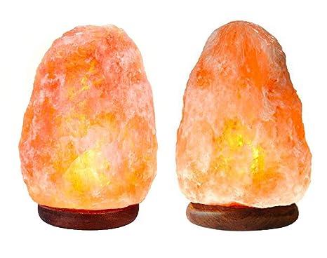 Amazon Com Puraglo Himalayan Salt Lamp 2 All Natural Certified