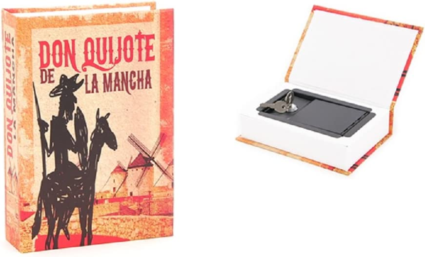 Caja Fuerte Libro Don Quijote: Amazon.es: Hogar
