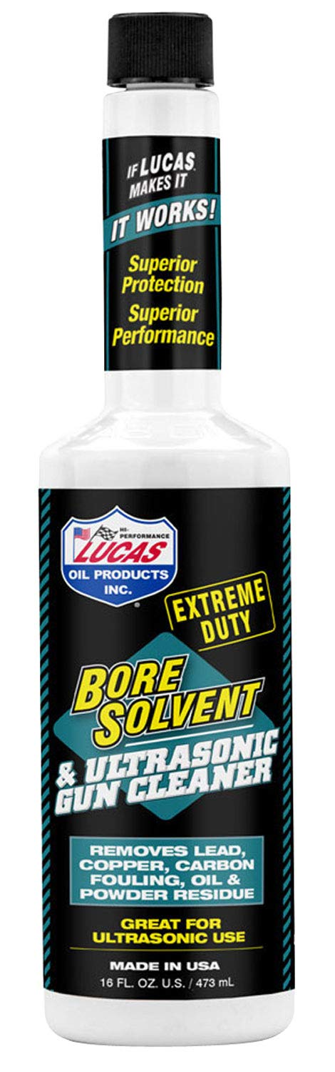 Lucas 1 Pack 10918 Extreme Duty BORE Solvent 16OZ