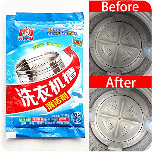1pcs Washing Machine Cleaner Descaler Deep Cleaning Remover Deodorant Durable (3pcs, -