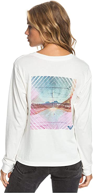 Roxy Womens Blame It On My Wild Heart Long Sleeve Tee for Women Arjzt05667