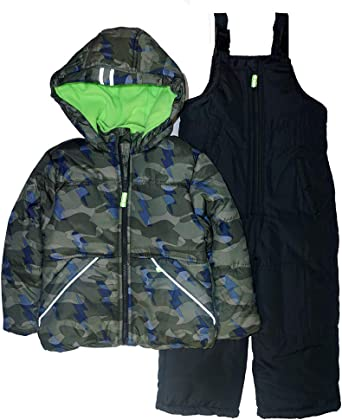 OshKosh BGosh Baby Boys Ski Jacket and Snowbib Snowsuit Set