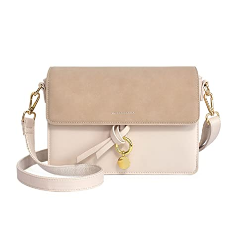 SCFGG - Bolso estilo cartera para mujer beige S