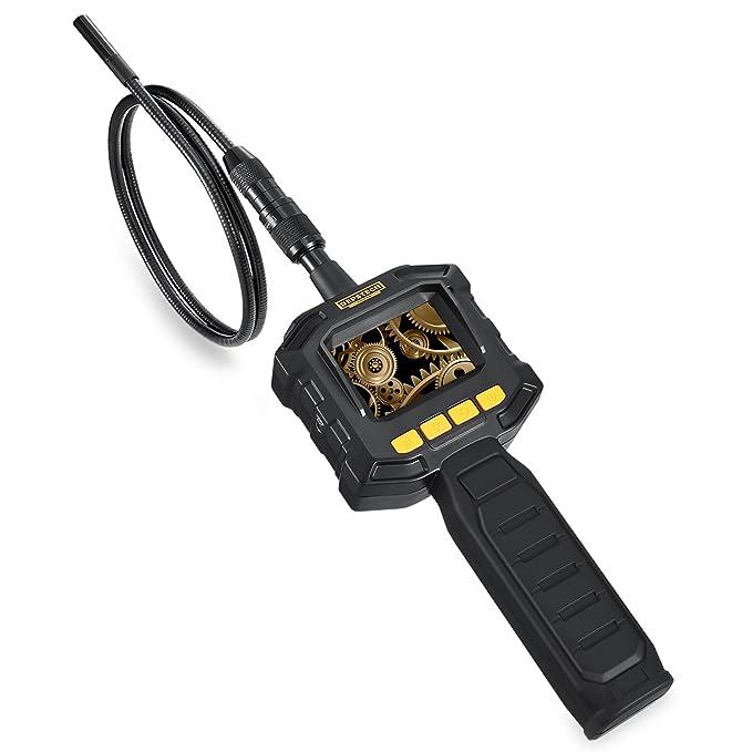 Cámara de inspección, Depstech impermeable Digital Endoscopio Boroscopio serpiente tubo de la cámara con monitor LCD a color de 2,3, cámara de 8 mm Diámetro ...