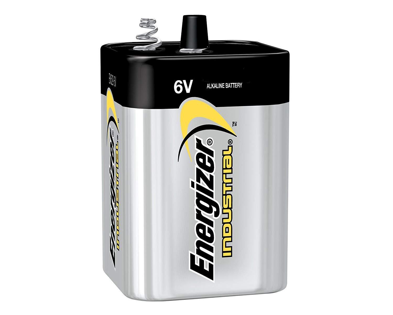 Energizer Industrial 6 Volt Alkaline Lantern Battery. (4 Each)