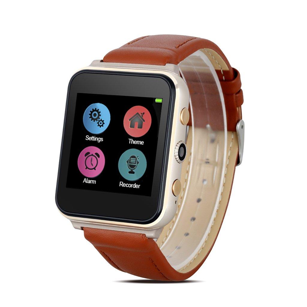 Diggro i400 - Reloj Pulsera Inteligente GSM Smartwatch (Cámara, Ritmo Cardíaco, Llamada Recordatorio, Monitor de Sueño, Compatible Con Android, IOS) ...
