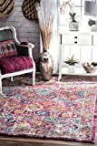 Cheap nuLOOM RZBD41B Persian Leilani Area Rug, 5′ x 7′ 5″, Pink