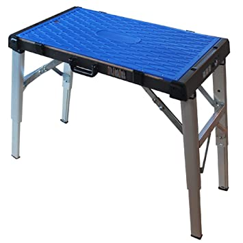 Midwest Tool And Cutlery Midwest Portable Work Surface   Adjustable Height  Table With Interchangeable Work Surfaces