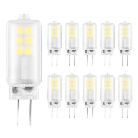 G4 Led Bulb >> G4 Led Bulb 2w Bi Pin Base Light Bulbs Ac Dc 12v Daylight Cool White