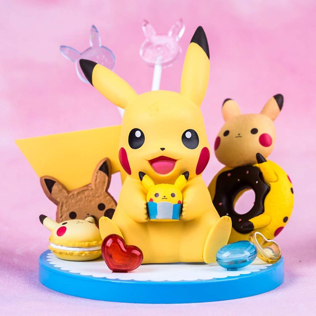 WJP Pokemon Pokemon Pikachu Anime uomoo modellolo Bambola Giocattolo 14cm