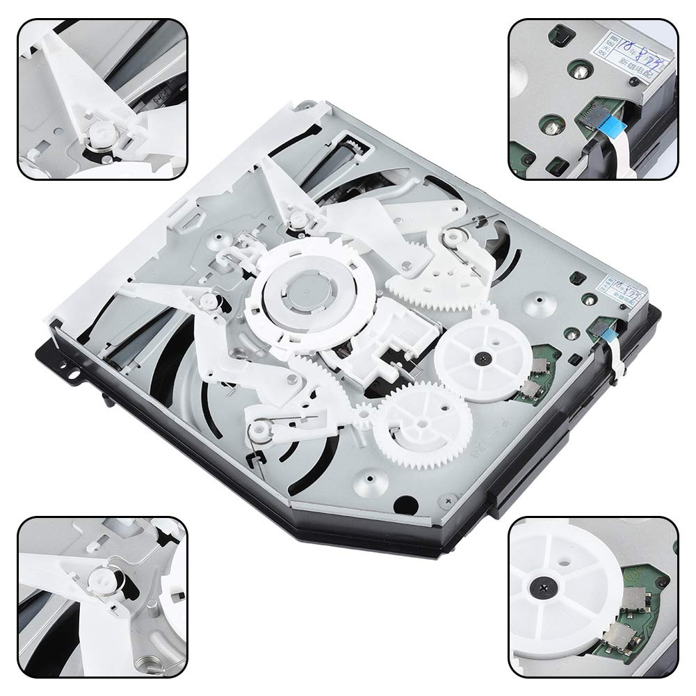 Tangxi PS4 KEM-490 DVD Drive Replacement Game Console Replacement Enclosure Blu-Ray DVD CD Disk Drive by Tangxi