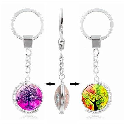 UmerBee - Llavero con forma de árbol de la vida (1 unidad ...