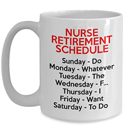 Image Unavailable. Image not available for. Color: Nurse Retirement Gifts ...