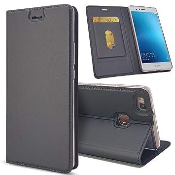 Penlicraft Funda para Huawei P9 Lite,Slim Carcasa con Tapa ...