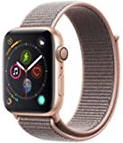 Apple Watch Series 4 (GPS, 44mm) - Gold Aluminum Case with Pink Sand Sport Loop