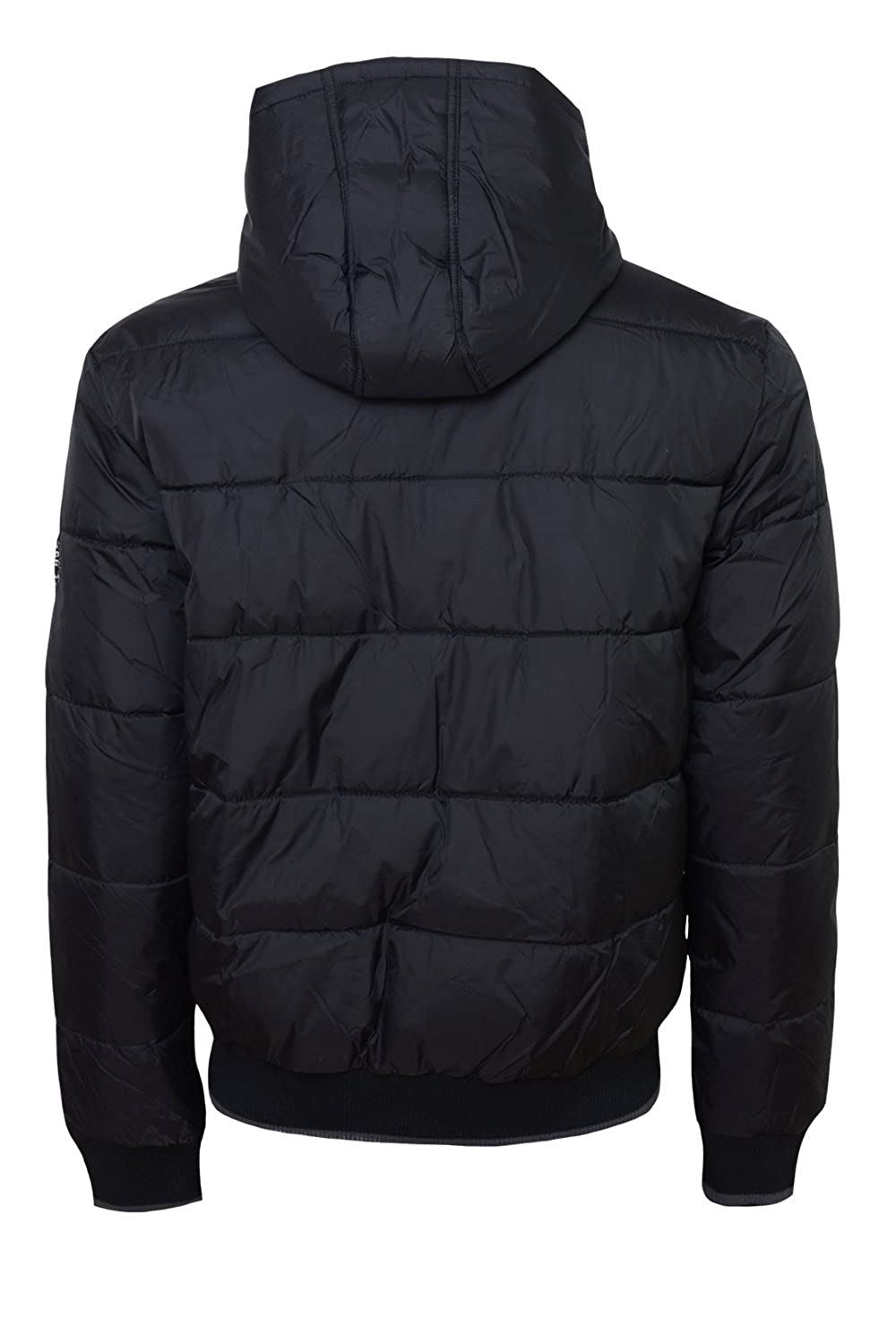 Crosshatch Mens Awesent Black Jacket - Black - X Large: Amazon.co.uk:  Clothing