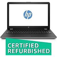 (CERTIFIED REFURBISHED) HP 15Q-BU039TU 15.6 inch Laptop (7th Gen Intel Core i3 Processor i3-7100U/4GB/1TB/Windows 10 Home 64-bit/Intel HD Graphics 520) with Fast Charge Support, Smoke Gray