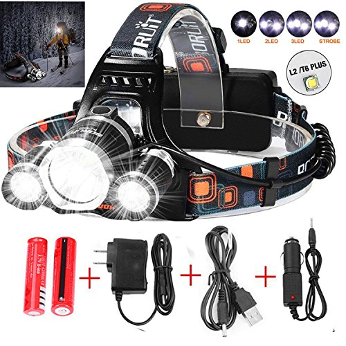 Led Light Clip Hard Hat in US - 4