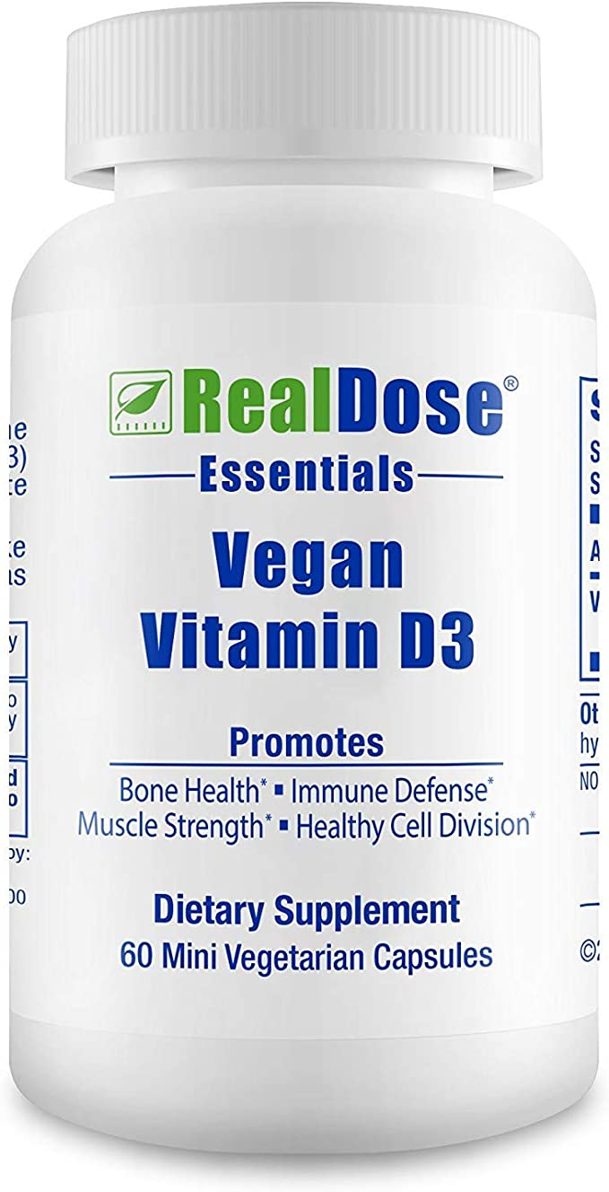 Safe2m Doctor Formulated Vegan Vitamin D3 Supplement