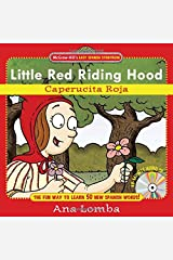 Easy Spanish Storybook: Little Red Riding Hood (Book + Audio CD): La Caperucita (Mcgraw-hill's Easy Spanish Storybook) Hardcover