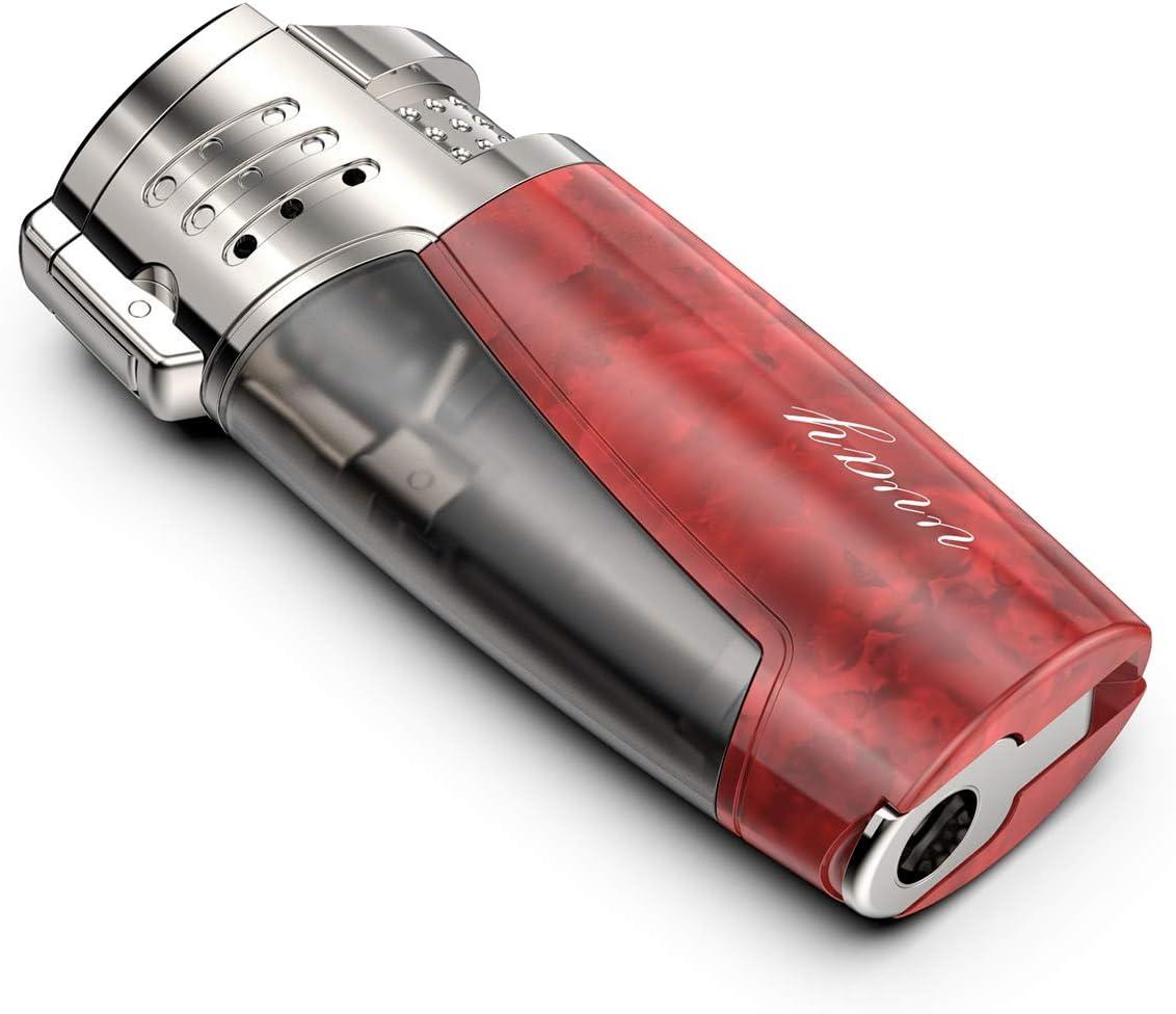 Cigar Lighters Gas L KATELUO Windproof Lighter Triple Jet Flame Torch Lighter