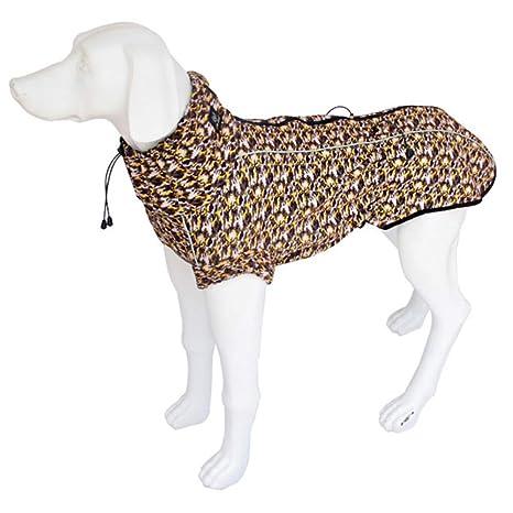 GAONAH Chaquetas Abrigos para Perros Chaquetas Impermeables Impermeabilizantes Impermeables Ajustables Impermeables para Perros Medianos Grandes,