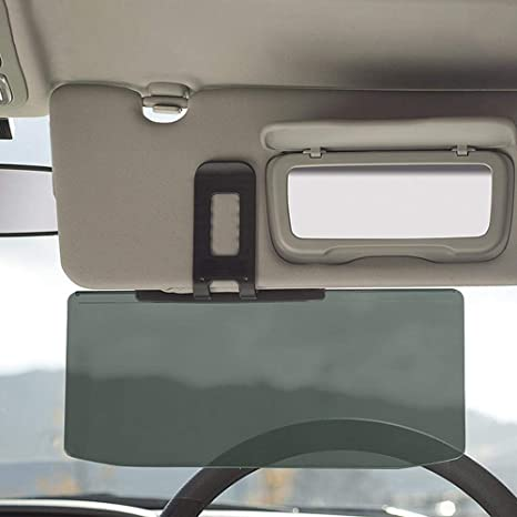 Car Sun Visor Extension Day//Night Vision Mirror Driving Anti-Glare Sun Visors UK