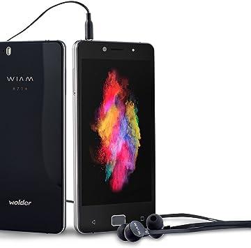Wolder WIAM #71 - Smartphone Libre Negro (5