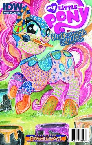 My Little Pony Halloween Edition #1 Mini Comic Book Halloween Comic Fest 2013 - -