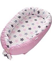 Eternitry Nido portátil Transpirable Suave, sillón reclinable para bebés, Cuna portátil súper Suave y Transpirable recién Nacido