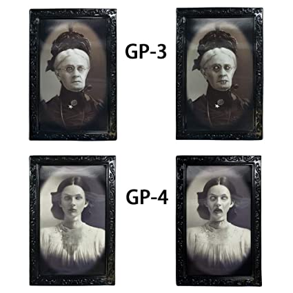 Amazon.com - Longess Face Changing Scary Decorative Frame 3D Horror ...