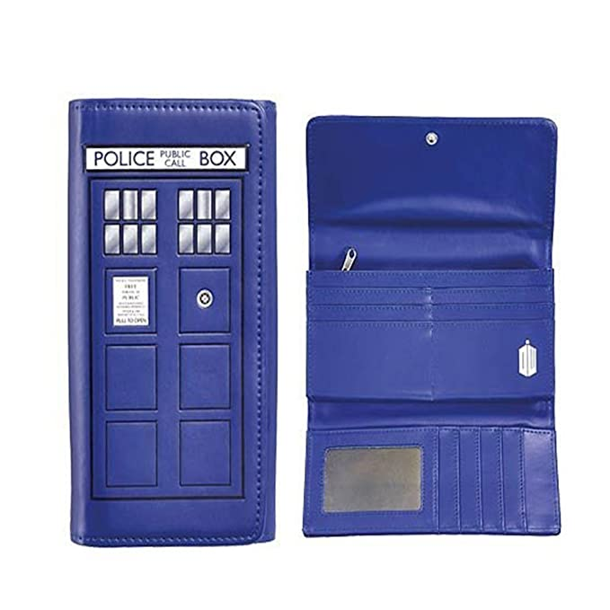 Doctor Who TARDIS Embossed Wallet