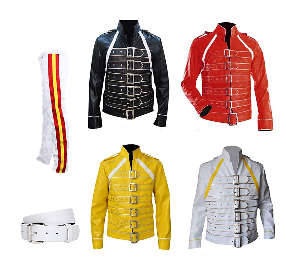 d9a46bed1 Freddie Mercury Concert Queen Synthetic Jackets